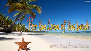 love beach ocean sand water