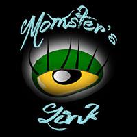 momsterslink logo badge domesticated momster