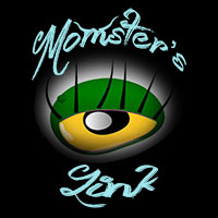 momsterslink logo badge domesticated momster