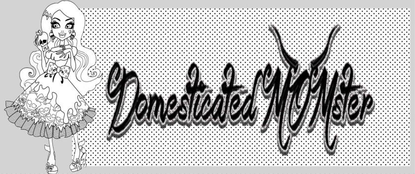Domesticated Momster.com Logo Brand ©2015
