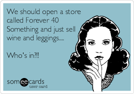Turning 40 #overthehill #aging #gettingolder