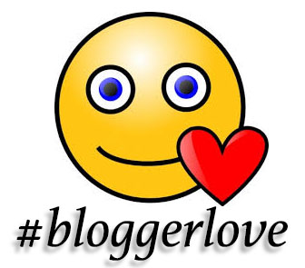 #bloggerlove badge logo image