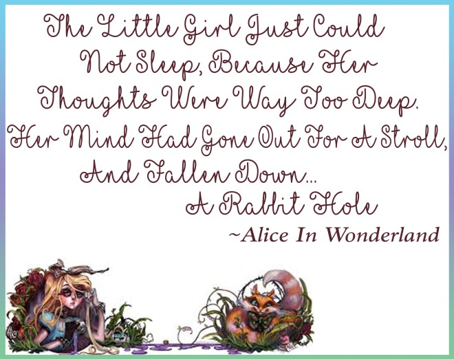 Favorite Quote Alice In Wonderland