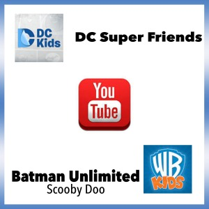 WB Kids and DCKids on YouTube WarnerBros Batman Scooby Doo Giveaway superhero