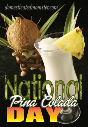 Pina Colada Day Cocktails Frozen Drinks
