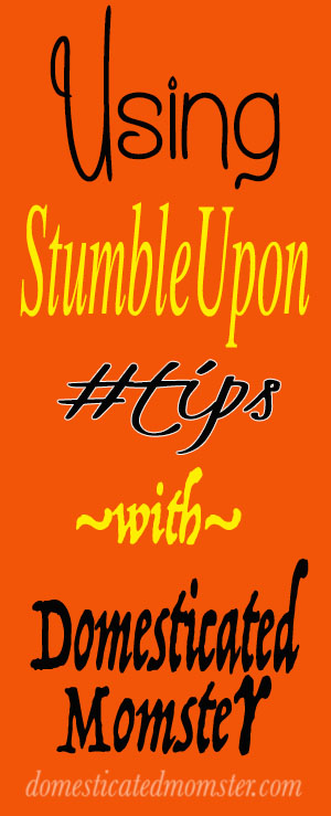blogging tips stumbleupon bloggers guide instructions