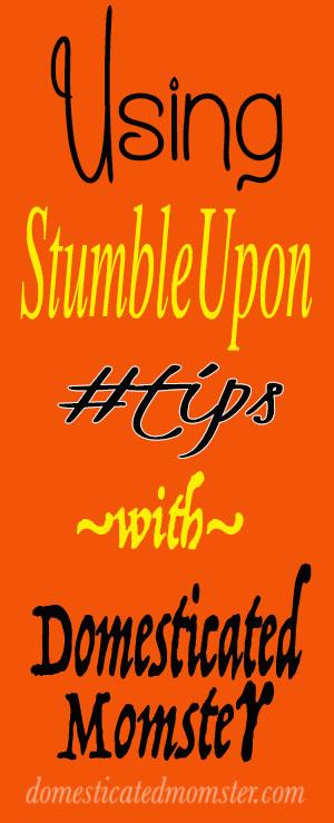 blogging tips stumbleupon bloggers guide instructions