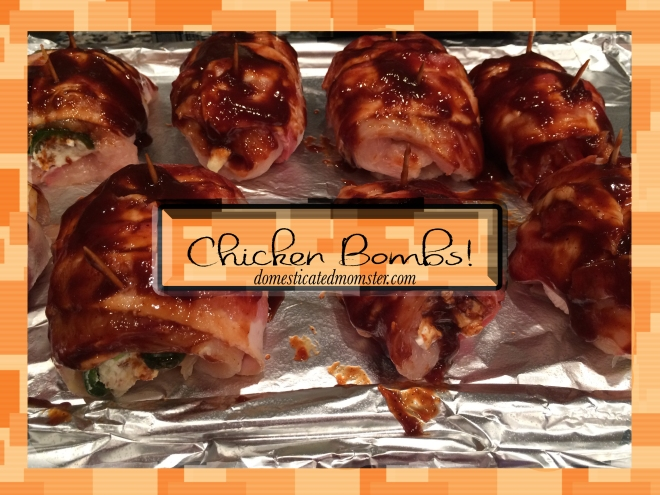 Jalapeno Chicken Bombs Recipe #foodpornthursdays