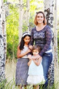 Heather And Girls Photo Shoot #photography #photoshop
