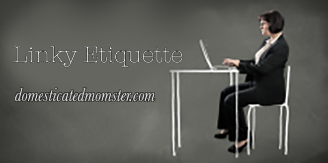 linky etiquette guidelines link-up rules
