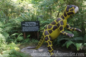 Prehistoric Gardens Gold Beach OR vacation travel dinosaur exhibit