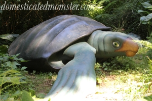 Prehistoric Gardens Gold Beach OR vacation travel dinosaur exhibit