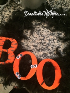 That's A Wrap art creativity halloween wreath holiday DIY