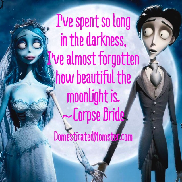 13 days of halloween, quotes, spooky, scary, corpse bride, tim burton