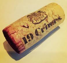 19 Crimes Wine red
