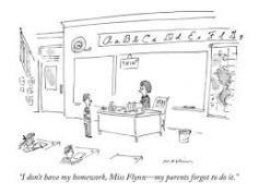 bad mommy parenting motherhood homework