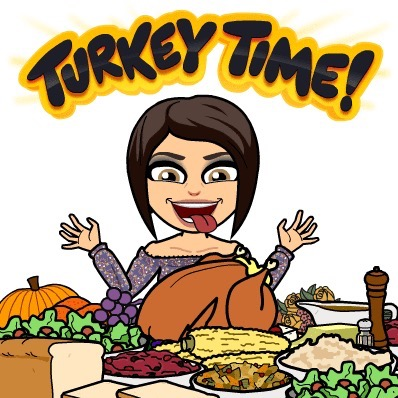 bitmoji Thanksgiving2015 turkey feast