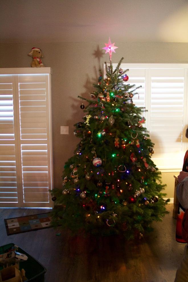 Christmas2015 tree decorations