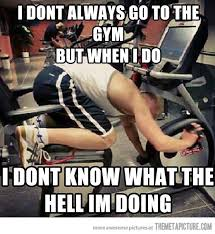 people at the gym workout fitness humor