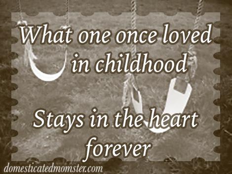 childhood memories children friends