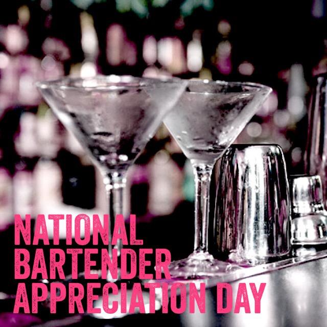 bartending national bartender appreciation day cocktails