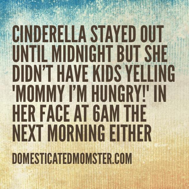 cinderella funny humor quotes