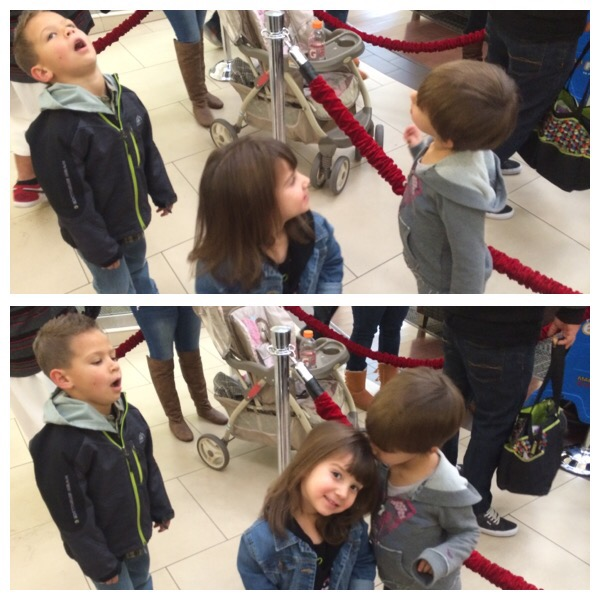 Christmas2015 santa visit mall