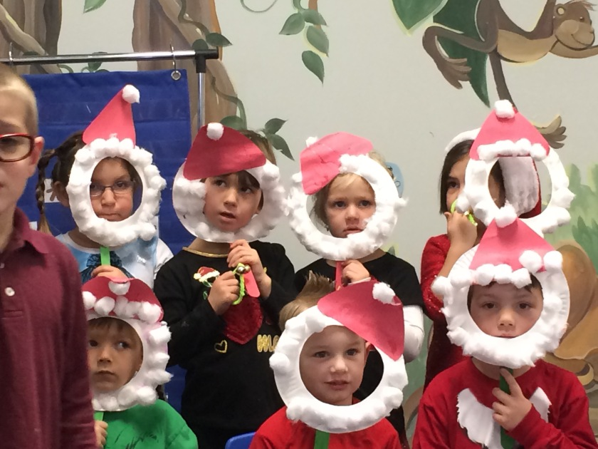 holiday program Christmas2015 kids preschool performance
