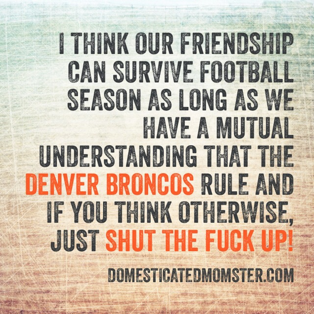 Denver Broncos football season haters humor