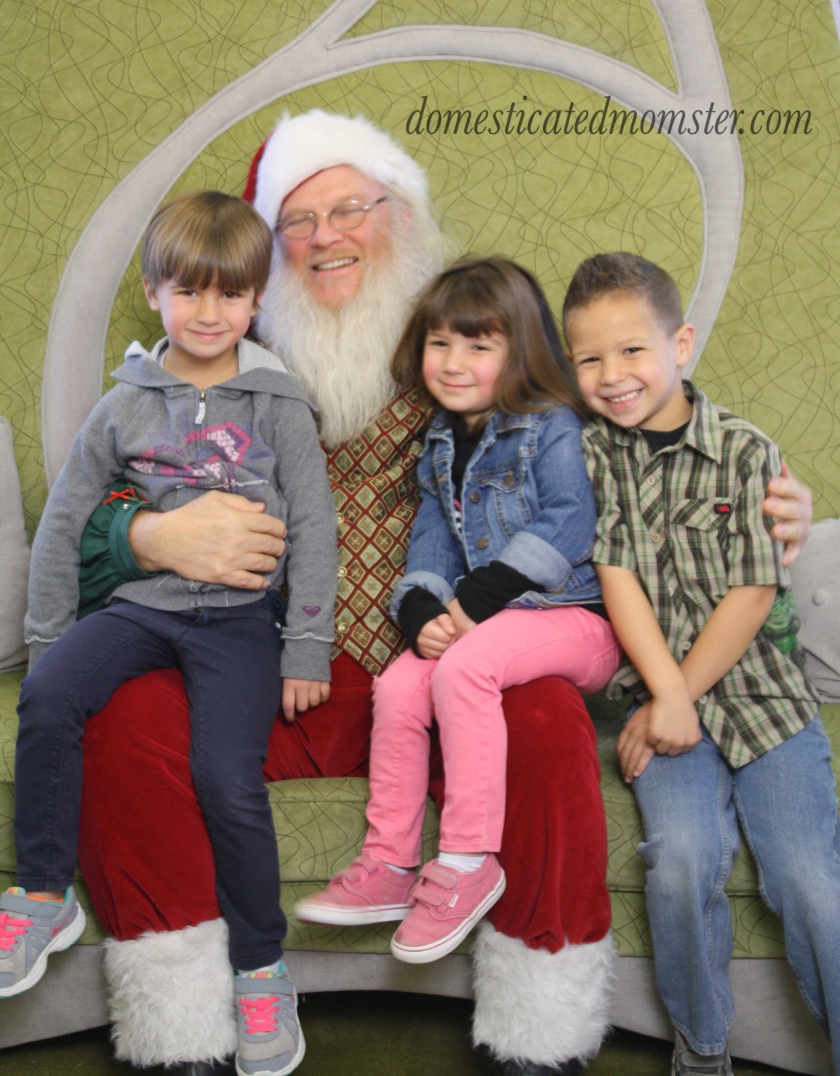 Christmas2015 Santa kids
