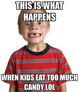 kids candy hyper eating habits nutrition