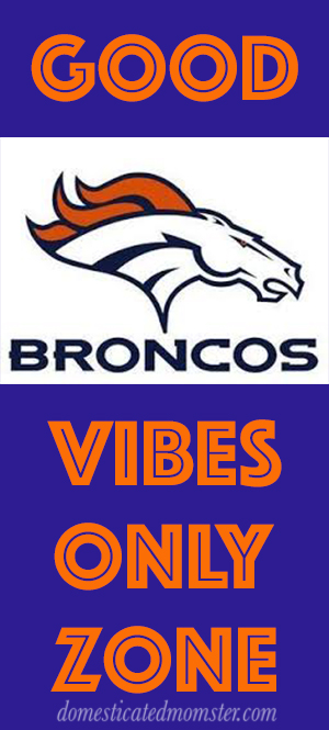 Denver Broncos football game image good vibes fans