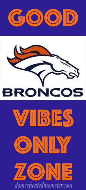 Denver Broncos football game image good vibes fans