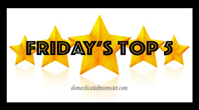 Fridays Top 5 blogging bloggers posts
