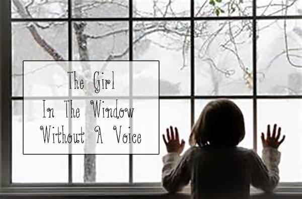 girl in window voice abuse neglect motherhood