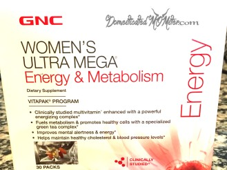 GNC Women's Ultra Mega Energy Metabolism Pack