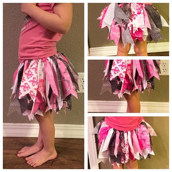fabric tutus girls skirts