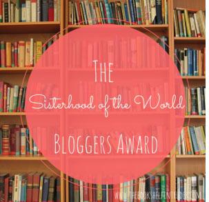 sisterhood of the world bloggers award #tbt