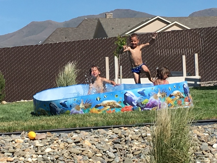 summer pool swimming kids