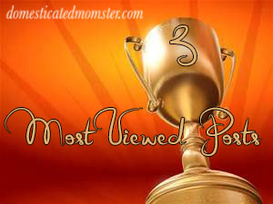 award most viewed posts blogging
