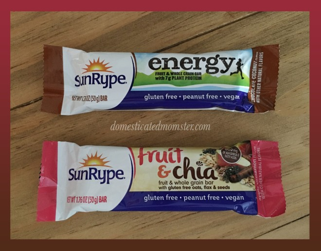 SunRype gluten free vegan kosher energy
