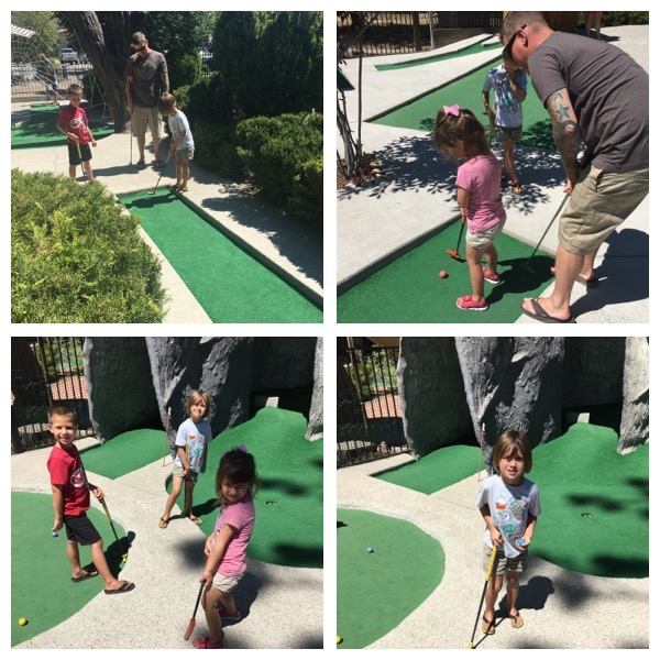 miniature golf lake tahoe vacation