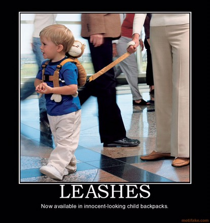 kids leashes crowds
