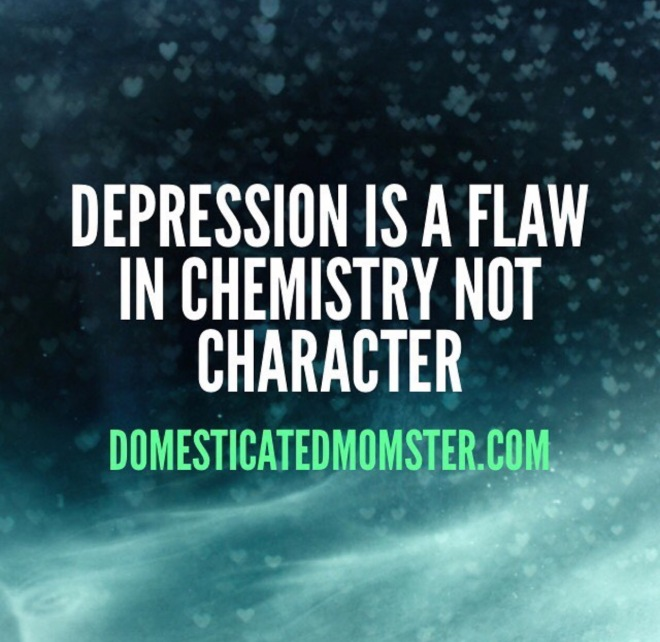 Depression anxiety chemistry