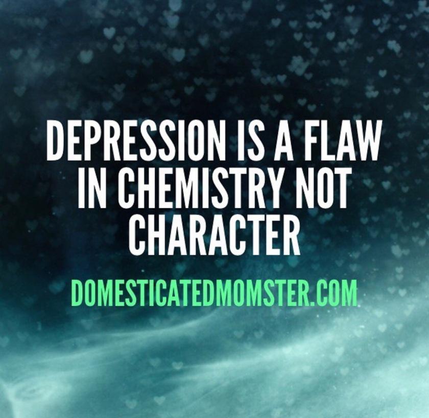Depression anxiety chemistry
